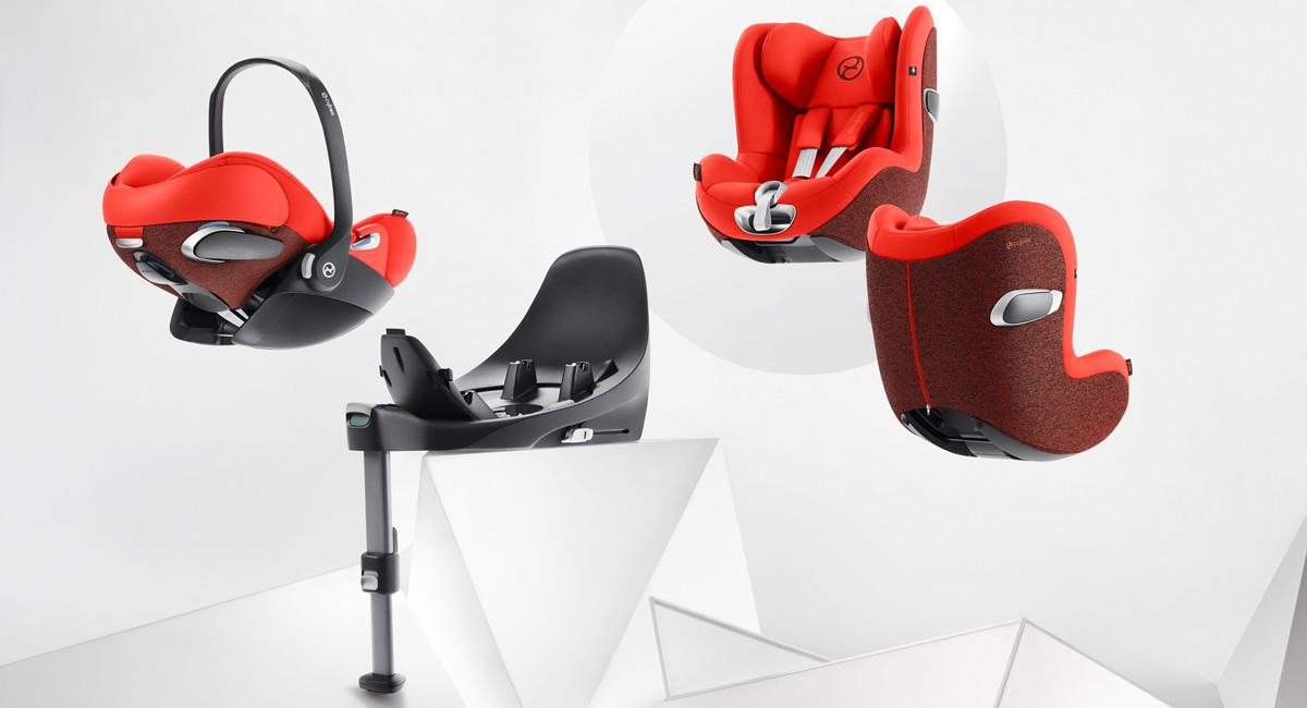 Z-Line Kindersitz Modularsystem ab Geburt bis 4 Jahre