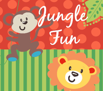 Themenwelt Jungle Fun online kaufen | KidsComfort.eu
