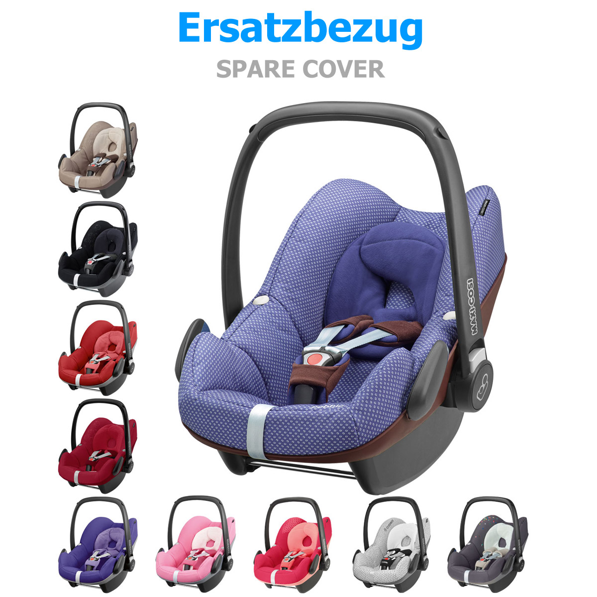 maxi cosi ersatzbezug f r pebble design 2014 farbe w hlbar neu ebay. Black Bedroom Furniture Sets. Home Design Ideas