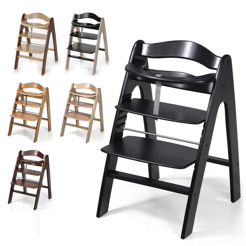 hauck icoo pharo step highchair wooden colour choice new ebay. Black Bedroom Furniture Sets. Home Design Ideas