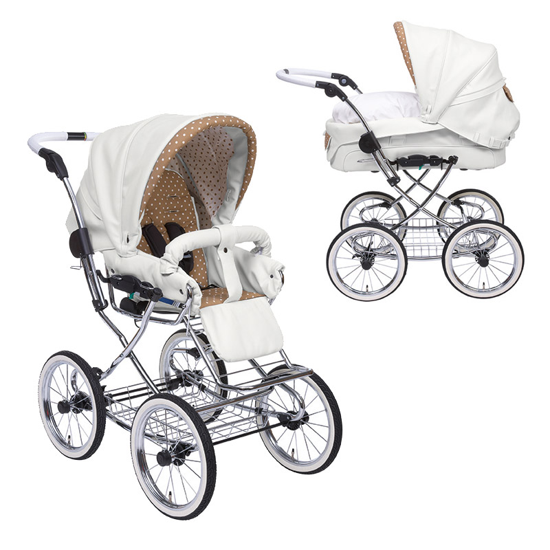 teutonia elegance retro kinderwagen mit babywanne 2015 5230 paris romance. Black Bedroom Furniture Sets. Home Design Ideas