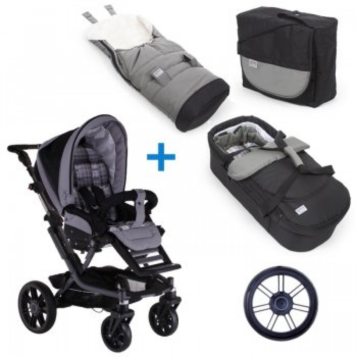 teutonia mistral s kinderwagen mit varioplus tt wickeltasche 2014 farbe w hlbar ebay. Black Bedroom Furniture Sets. Home Design Ideas
