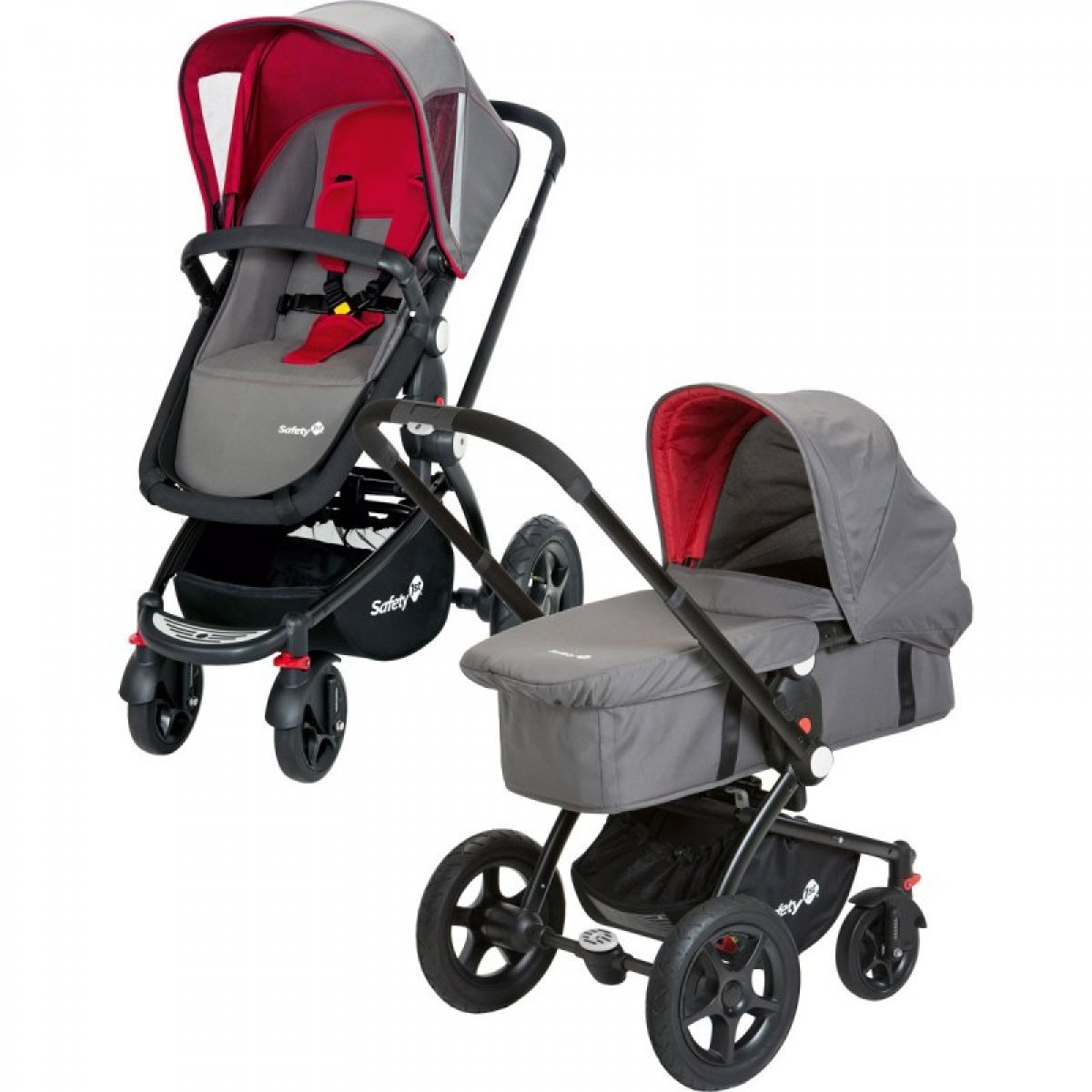 safety 1st roadmaster pack including pram and sports car. Black Bedroom Furniture Sets. Home Design Ideas