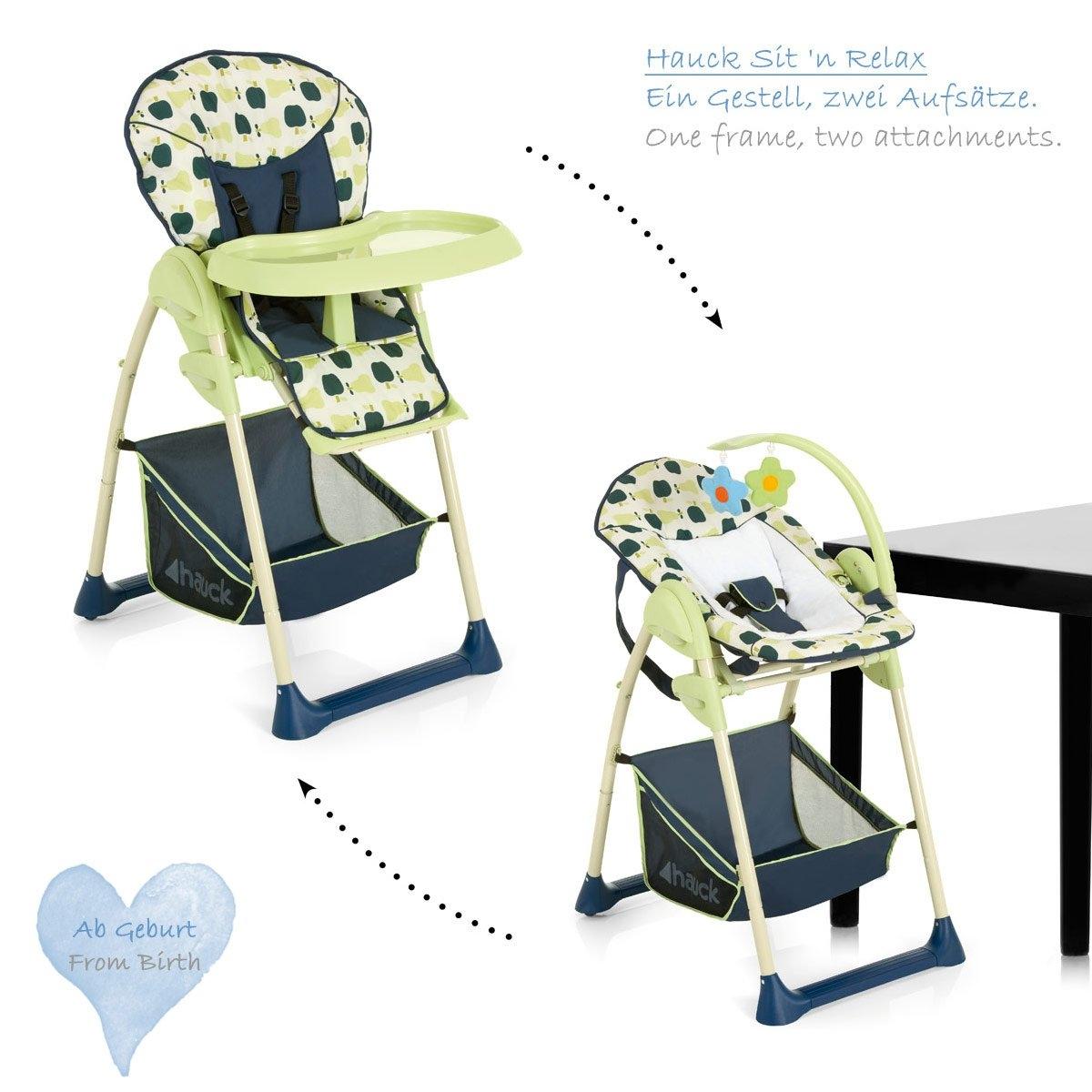 Hauck sit 39 n relax 2in1 hochstuhl und babywippe design 2014 farbe w hlbar ebay - Design hochstuhl ...