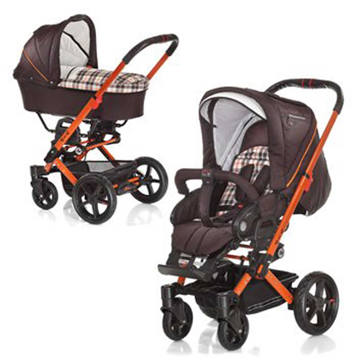 hartan vip xl kinderwagen mit tragetasche. Black Bedroom Furniture Sets. Home Design Ideas