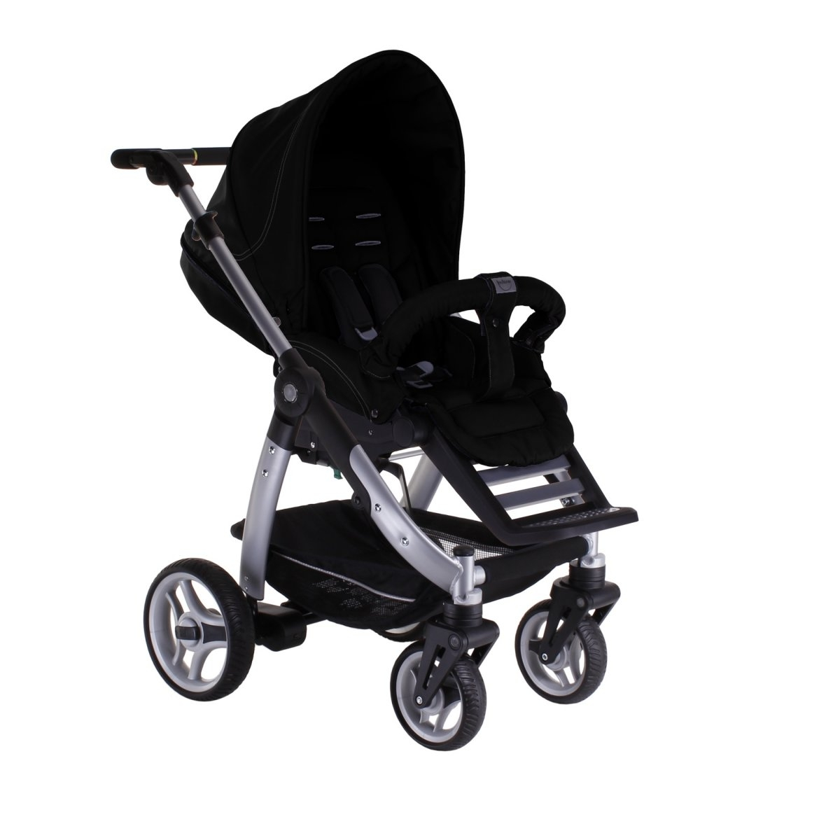 teutonia cosmo silber kinderwagen sportwagen 2014 farbwahl ebay. Black Bedroom Furniture Sets. Home Design Ideas