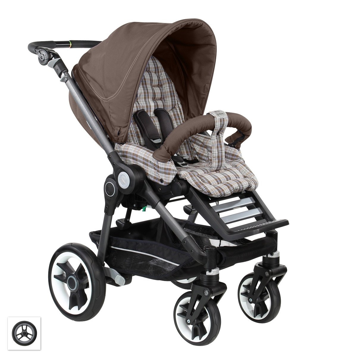 teutonia beyou v3 graphite rad 3 kinderwagen sportwagen 2015 farbwahl ebay. Black Bedroom Furniture Sets. Home Design Ideas