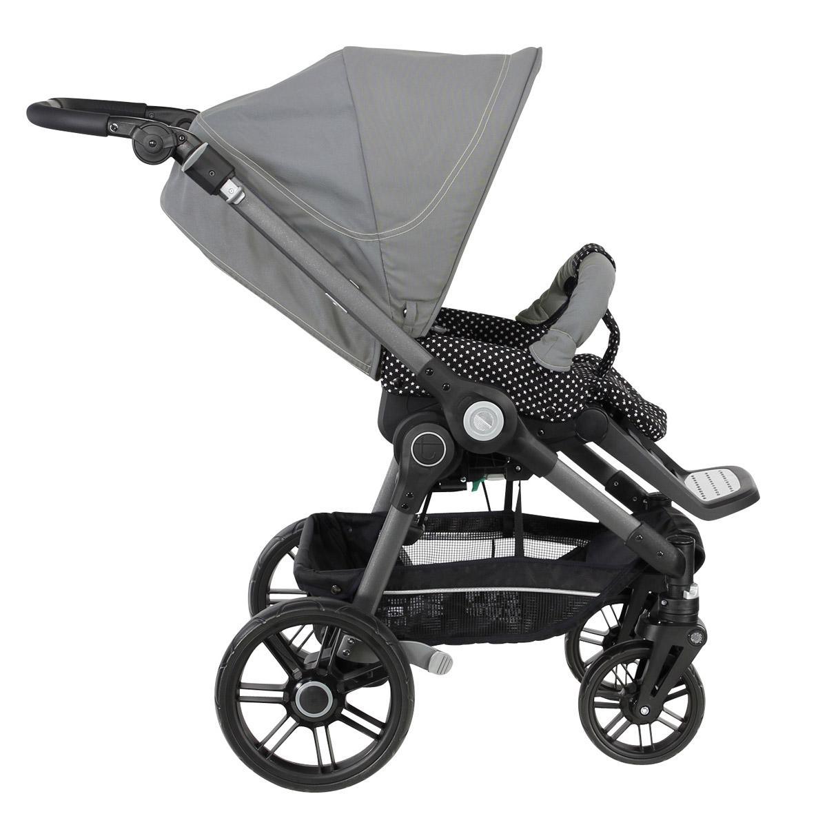 teutonia beyou v3 graphite rad 7 kinderwagen sportwagen 2015 farbwahl ebay. Black Bedroom Furniture Sets. Home Design Ideas