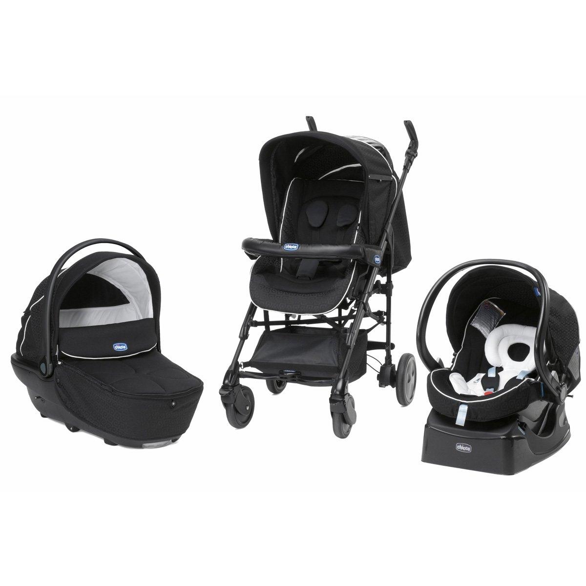 chicco trio living smart kombikinderwagen mit babyschale. Black Bedroom Furniture Sets. Home Design Ideas