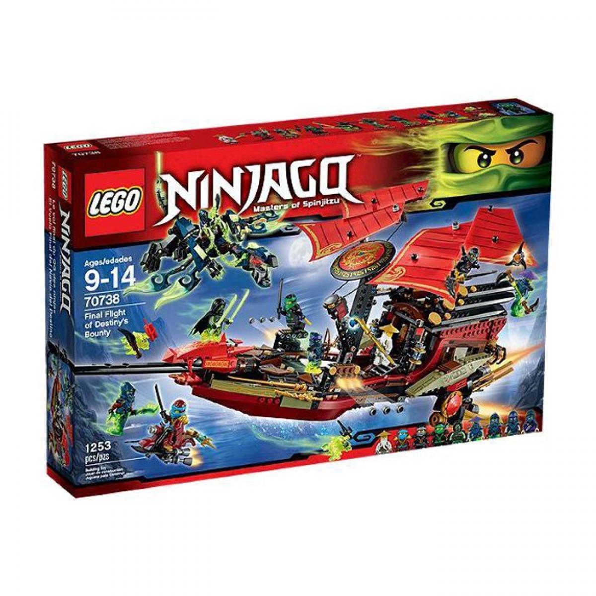 lego ninjago  der letzte flug des ninjaflugsegler 70738