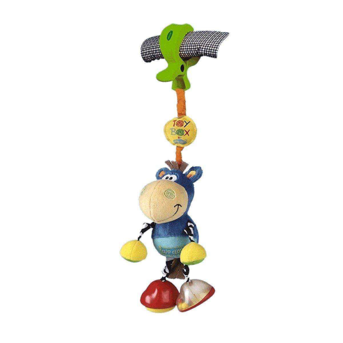 Toy Box Klipp Klapp Pferd für Kinderwagen Spielzeug zum