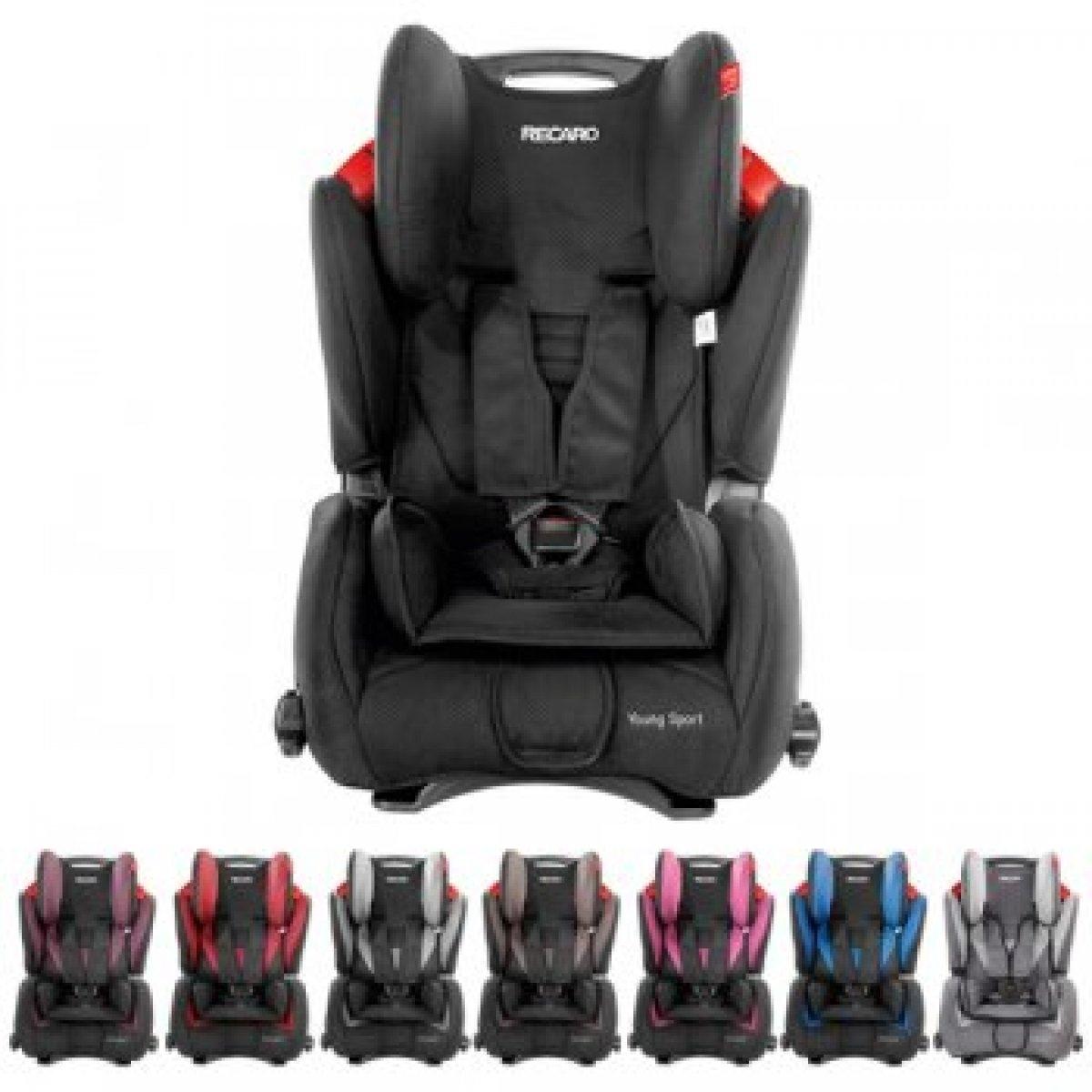 RECARO-Kinderautositz-YOUNG-SPORT-9-36-kg-Design-2014-waehlbar-NEU-7967