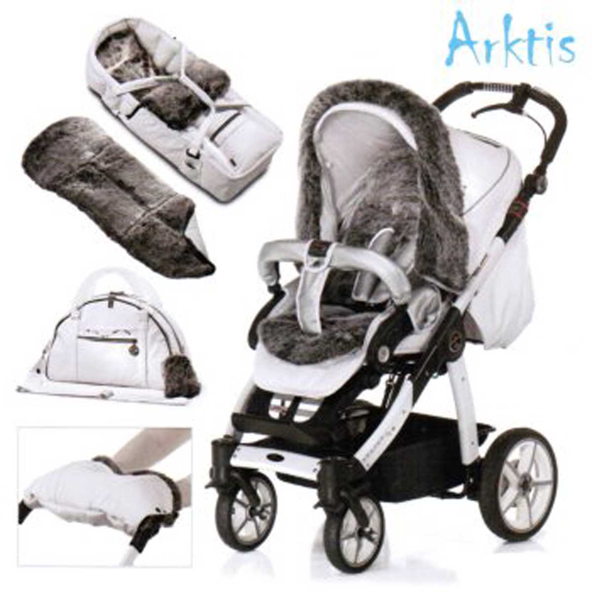 hartan racer gt arktis handbremse kinderwagen komplett set. Black Bedroom Furniture Sets. Home Design Ideas