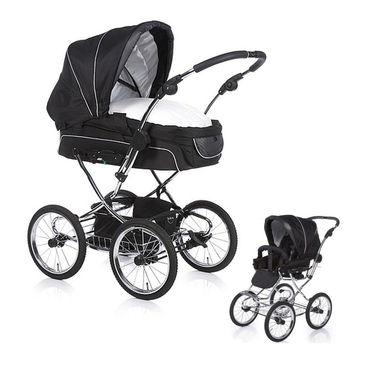 teutonia elegance kinderwagen babywanne farbe w hlbar ebay. Black Bedroom Furniture Sets. Home Design Ideas