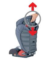Britax Roemer - RÖMER KIDFIX - Kopfstütze in 11 Stufen einstellbar