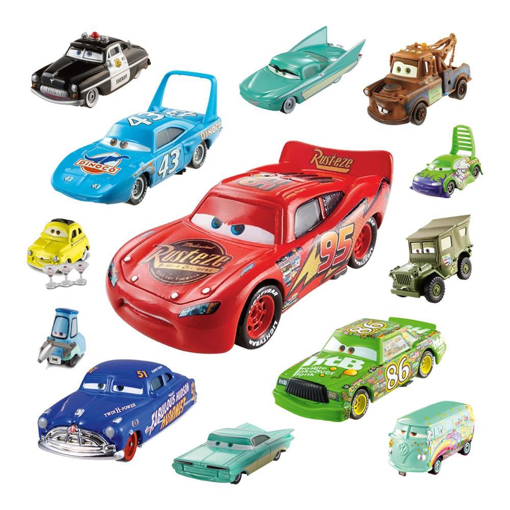 Mattel disney cars dxv die cast jackson