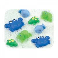 Playgro Badespielset Spritztiere 8-teilig Junge blau
