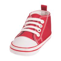 Playshoes Canvas Turnschuh Größe 17-20 Farbwahl Rot 17