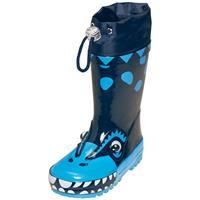 Playshoes Gummistiefel Dino blau