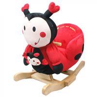 Knorrtoys Schaukeltier Ladybug Marie mit Sound inkl. Handpuppe