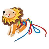 Hape Fädel-Spielzeug Löwe