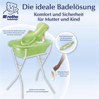 rotho TOP Pflegeset 5 teilig mit Babybadewanne, Ba Detail 05