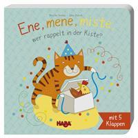 Haba Klappenbuch: Ene, mene, miste, wer rappelt in der Kiste?