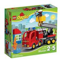 Lego Duplo Löschfahrzeug Detailansicht 01