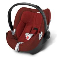 Cybex Aton Q Plus Babyschale Platinum Line 2016 Mars Red - red