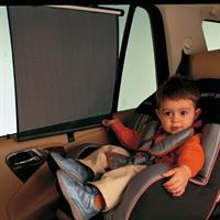 Brevi Sonnenrollo für Autoscheiben - Universal passend, einfache und schnelle Befestigung