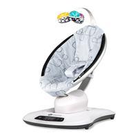 4moms Babywippe mamaRoo 4.0 Design 2018 Silver Plush