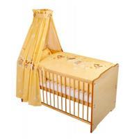 Zöllner Bett Set – Bettwäsche Nestchen Himmel Herz Vanille