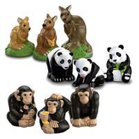 Fisher-Price X0041 Little People Zoo Zootiere Familien Sortiment - Tierfamilie frei wählbar