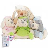 Babiage Doodoo Hund Plüschtier Einschlafhilfe für Babys
