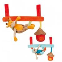 Nattou Jungle Maxi Spieltrapez für Babyschale oder Babywippe
