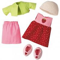 Haba Kleiderset Erdbeere für 30 cm und 34 cm Puppen