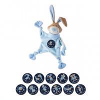 Sigikid Sternzeichen Schnuffeltuch Blau