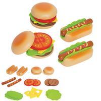 Hape Hamburger & Hotdogs für die Kinderküche