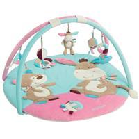 BabyFehn 3-D Activity-Decke Krabbeldecke Esel Monkey Donkey