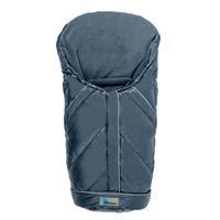 Altabebe Daunen Fußsack für Babyschale Alaska Grau/Blau