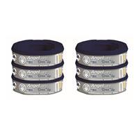Angelcare Nachfüllkassette Dress-Up 6er-Pack für Windeleimer Dress-Up