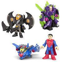 Mattel Super Freunde Schutzausrüstung - Batman, Superman & Lex Luthor