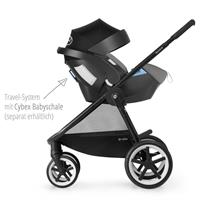 Cybex Balios M Kinderwagen 2017 manhattan grey Travel System mit Cybex Babyschale