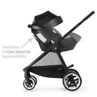 Cybex Iris M Air Kinderwagen 2017 manhattan grey Travel System mit Cybex Babyschale