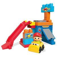 Mega Bloks Garage mit Drehscheibe und Tankstelle Spielset