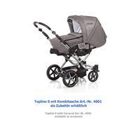 Hartan Topline S Kinderwagen 412 Schwarz Wei Vichy 11045 3 Ansichtsdetail 03