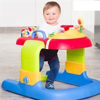 Hauck 2in1 Walker Gehfrei Lauflerner 643044 Dots Zum Sitzen mit Kind