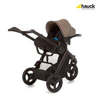 Hauck Maxan3 Plus Trio Set Melange Sand 403112 Travel System mit Babyschale