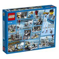 Lego City Polizeiquartier auf der Gefängnisinsel Detailansicht 01