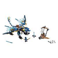 Lego Ninjago Jays Elementardrache 70602 Detaillierte Ansicht 02